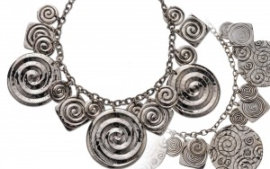 Necklace, frnt/bk